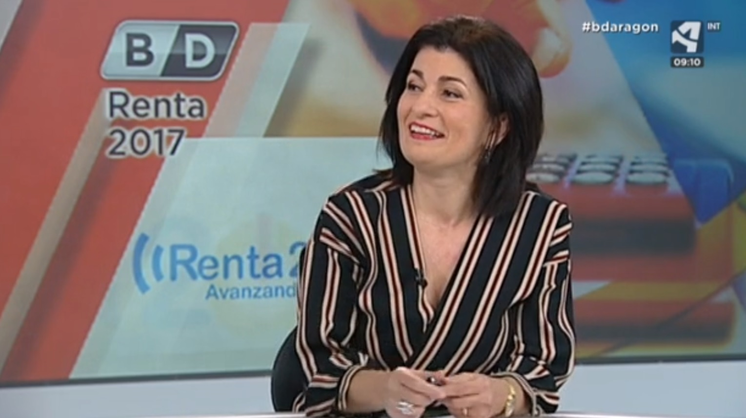 Ana Rubio en Aragón TV