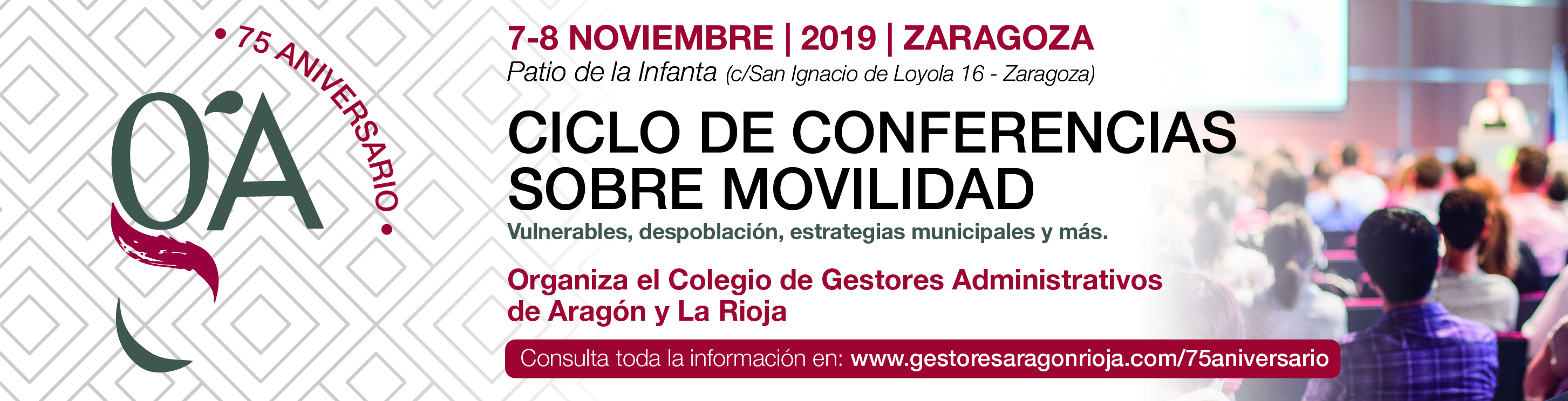 Faldón Conferencias